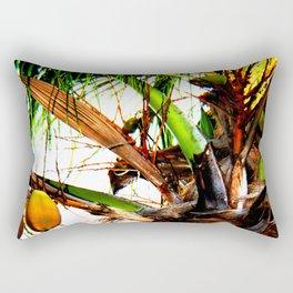 Artsy Coconuts Rectangular Pillow
