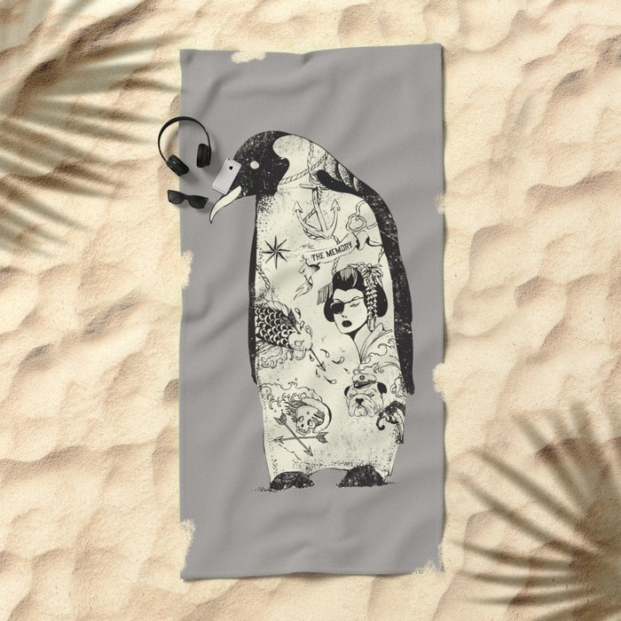 THE PENGUIN Beach Towel