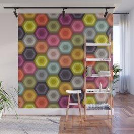 crochet honeycomb Wall Mural