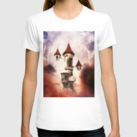 castle in the sky T-shirts featuring Castle in the Sky by Heidy Curbelo