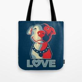 Pitbull - Love Tote Bag
