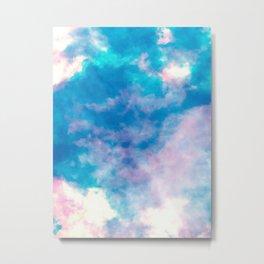 summer storm  |  sky dye series Metal Print