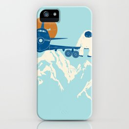 Hitchin' a Ride iPhone Case