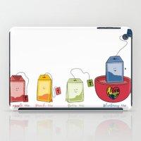 tea iPad Cases featuring tea by Emma Harckham