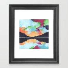 Mini Postcard for February Framed Art Print