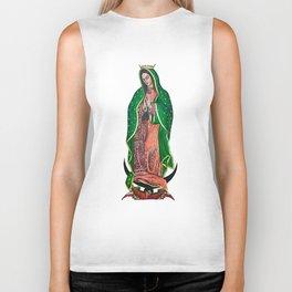 La Virgen de Guadalupe Biker Tank
