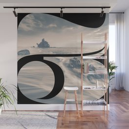 Nr. 3 | Numbers with a View | Typography Letter Art Wall Mural