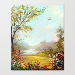 Spring in the Galilee Canvas Print