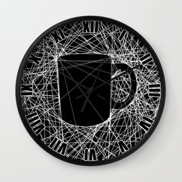 Coffee Web Wall Clock