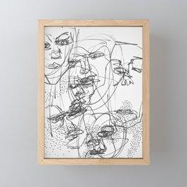 Faces #3 Framed Mini Art Print