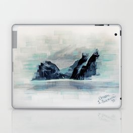 Rectangles - Perspective of Milford Sound Laptop & iPad Skin
