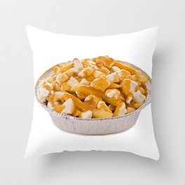 Poutine Throw Pillow