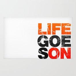 Life Goes On Rug