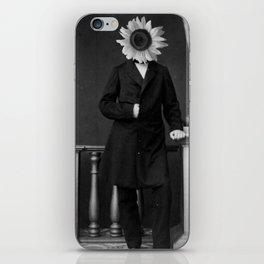 Smart Sunflower.1885. iPhone Skin