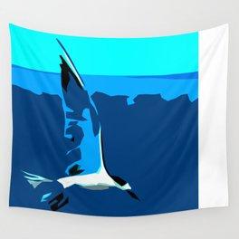 Tropical Tern (Sandwich Tern) - Seychelles Wall Tapestry