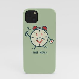Time heals iPhone Case