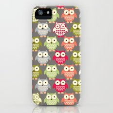 Forest Friends Owls iPhone (5, 5s) Slim Case