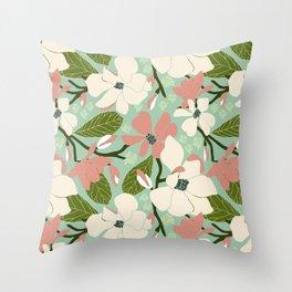 Magnolia Joy Throw Pillow