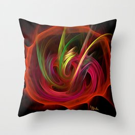The Bouquet By Rgiada Throw Pillow