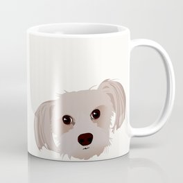 Morkie Tilted Head Coffee Mug