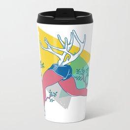 Run like a deer Metal Travel Mug
