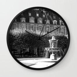 Place des Vosges 2 Wall Clock