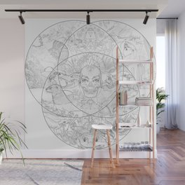 New Nature Wall Mural