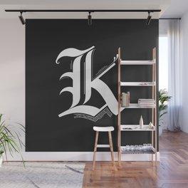 Letter K Wall Mural