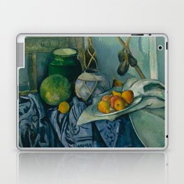 "Paul Cezanne ""Still Life with a Ginger Jar and Eggplants"" Laptop & iPad Skin"