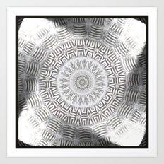 METAL Element Kaleido Pattern Art Print