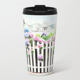 Hortensia garden Travel Mug