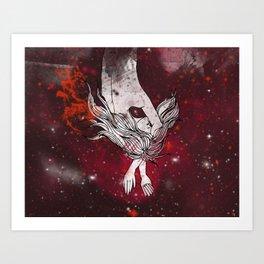 Cosmic Dreamer Art Print
