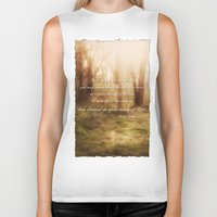 forrest Biker Tanks featuring Forrest by Terri Ellis