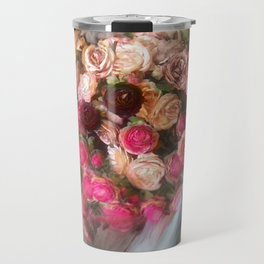 Flower Bloom Girl Travel Mug