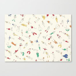 Bowies Canvas Print