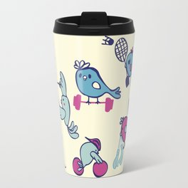 Birds taking part of the olympics in Tokyo 2020 Travel Mug