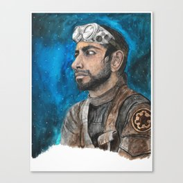 The Pilot Canvas Print