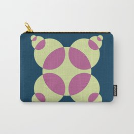 015 Abstract blue, orange and light green pattern for home decoration Carry-All Pouch