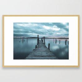 The Ocean Braviken Framed Art Print