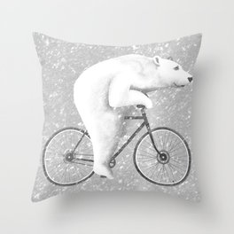 Polar Express Throw Pillow