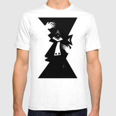 Cyclops Mens Fitted Tee SMALL White