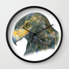 Eagle Portraiture Wall Clock