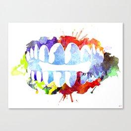 Teeth Canvas Print