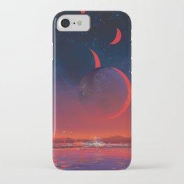 NASA Retro Space Travel Poster #13 - TRAPPIST-1e iPhone Case
