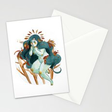 Winter Arrives Stationery Cards