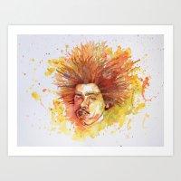 Techno Tuesday  Art Print
