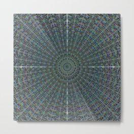 19 Radiating from Center Metal Print