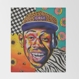 Tyler The Creator Throw Blanket