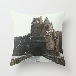Finally, a Castle - landscape photography Throw Pillow
