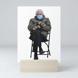 Unbothered Bernie Sanders Mini Art Print